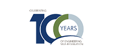 100 years of engineering logo