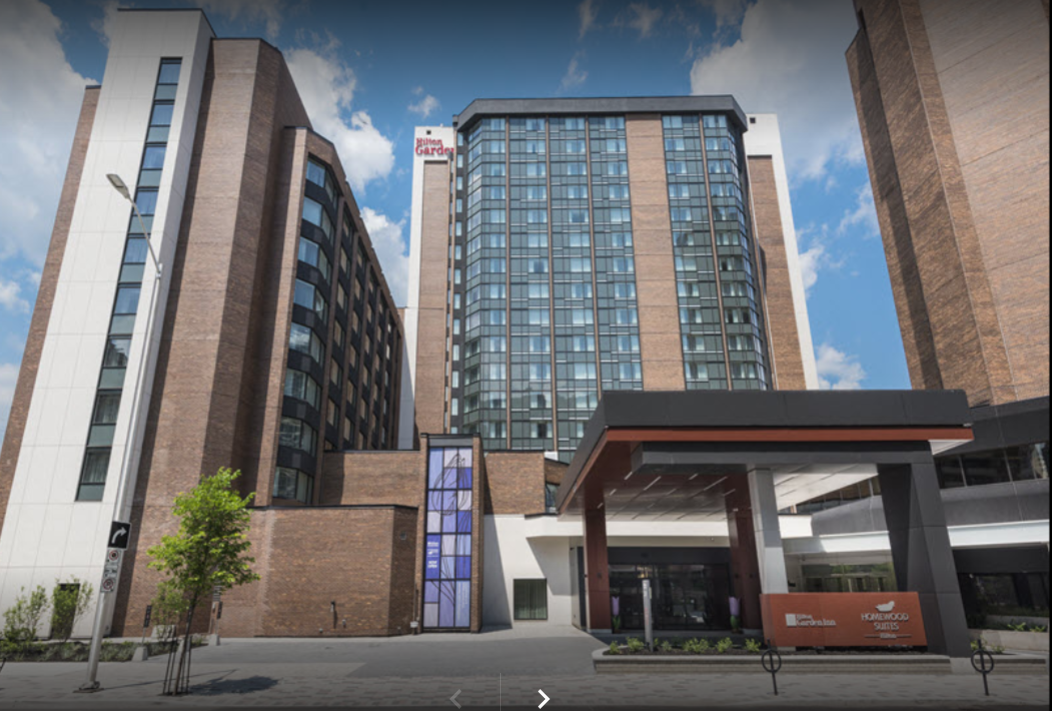 The Hilton Garden Inn & Homewood Suites