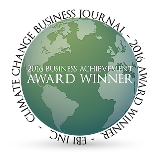 Climate Change Business Journal's Business Achievement Awards logo