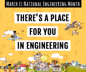 national engineering month logo