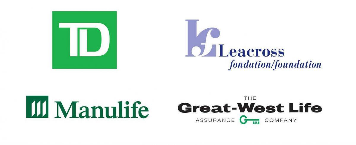 TD Manulife KLeacross Foundation and Great-West Life logos