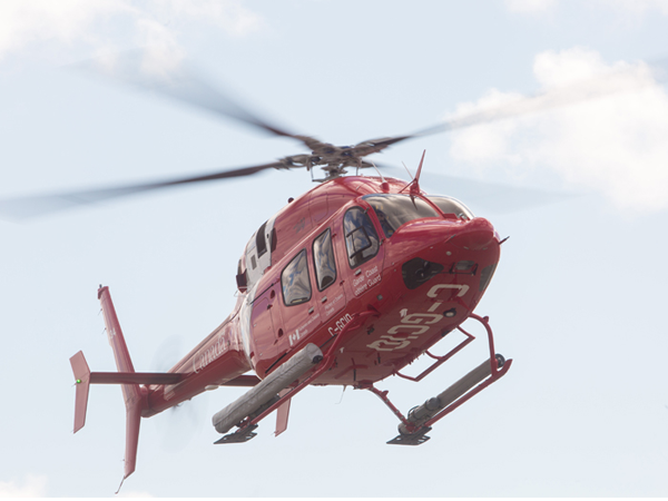 The Bell 429 Helicopter