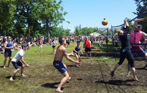 Tournoi de volley-ball de plage HOPE