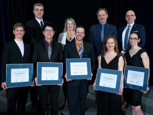 2018 Engineers Canada scholarship winners