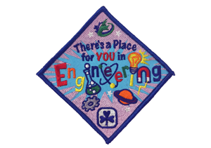 The Engineers Canada Girl Guides crest